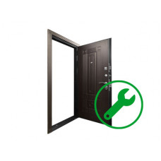 Ремонт бронированных дверей