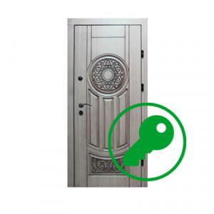 Вскрытие двери фирмы Бастион