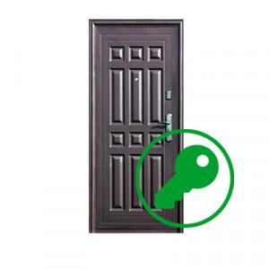 Вскрытие двери фирмы Форпост