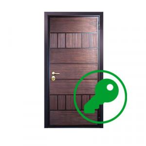 Вскрытие двери фирмы Стал